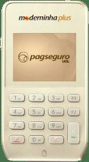 moderninha-plus-231h 7 Melhores Máquinas de Cartão de Crédito que dispensam celular em 2019