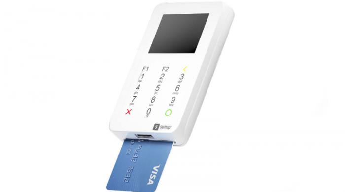 sumup-super-hero-700x389 7 Melhores Máquinas de Cartão de Crédito que dispensam celular em 2019