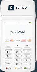 sumup-total-120x231 7 Melhores Máquinas de Cartão de Crédito que dispensam celular em 2019