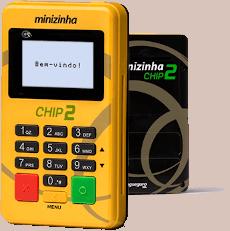 minizinha-chip-2-231h Melhores Maquininhas de Cartão de Crédito que dispensam celular
