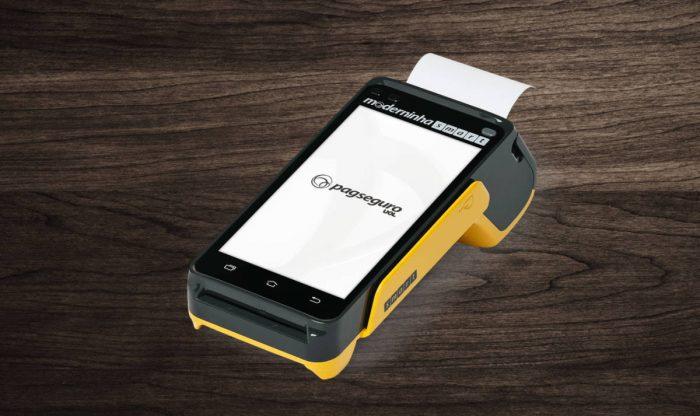 moderninha-smart-700x416 7 Melhores Máquinas de Cartão de Crédito que dispensam celular em 2019